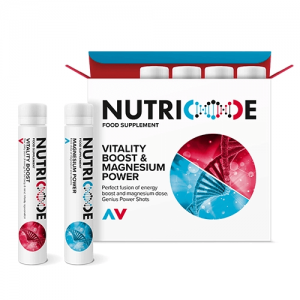 Suplementy FM Federico Mahora NUTRICODE VITALITY BOOST & MAGNESIUM POWER